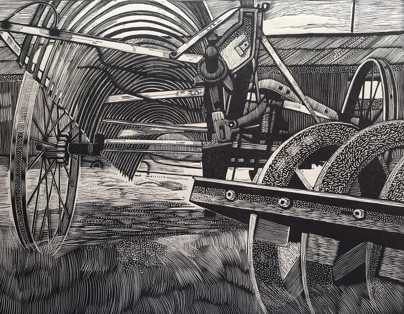 Farm Machinery engraving