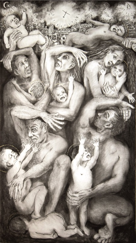 Massacre of the Innocents 122x216cm