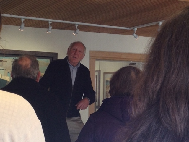 Ray Knotty ex-Dockie talking about his time in the Dockyard