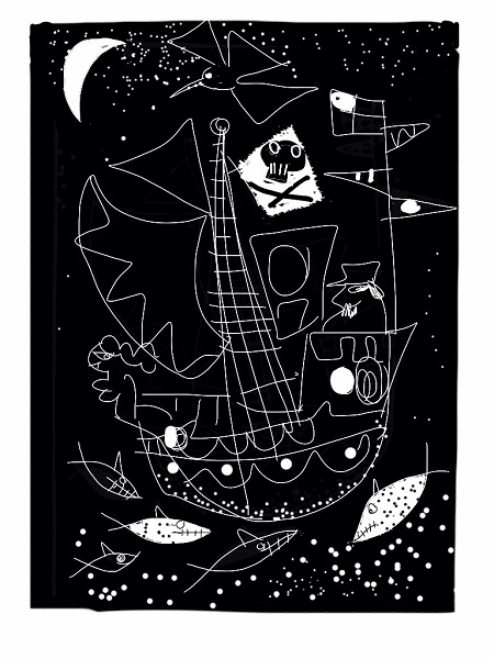 Anthony Millard 'Night Voyage' lithograph