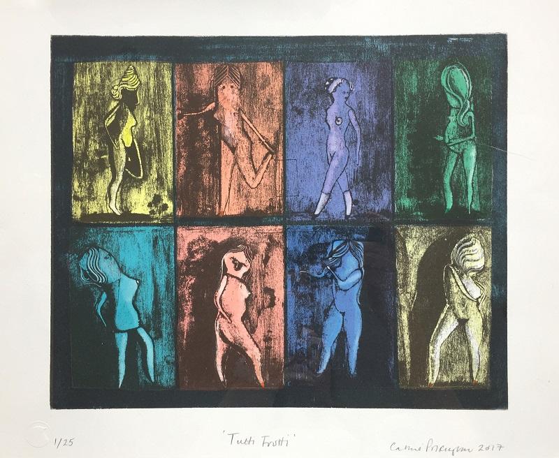 Tutti Frutti 2016 lithograph & hand colouring 25/25 30x38cm £550