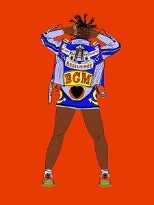 Girl Magic #2 digital print on Dibond 900x1400mm edition 1/15 £1600