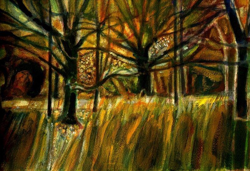 Park Wood I Watercolour £540 framed