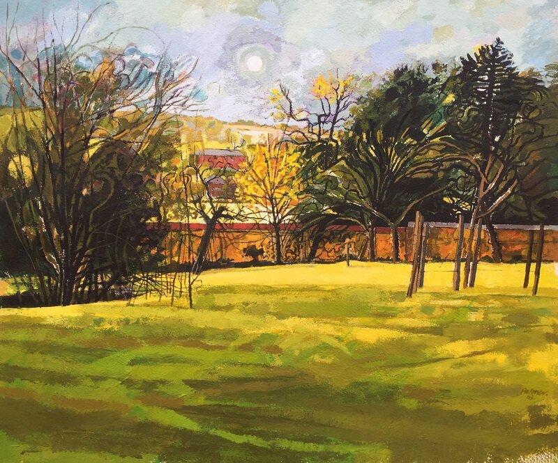 Yellow Tree 1969 gouache on paper 60x50cm £680