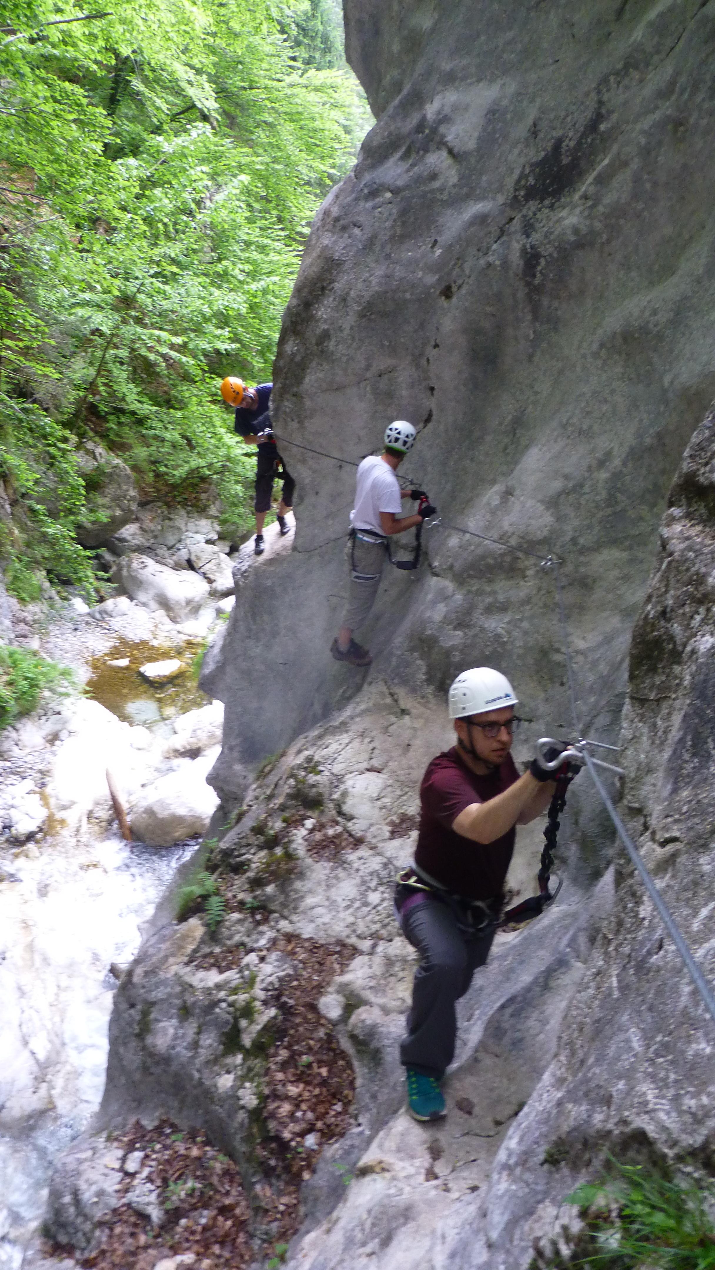 The Hladnik gorge