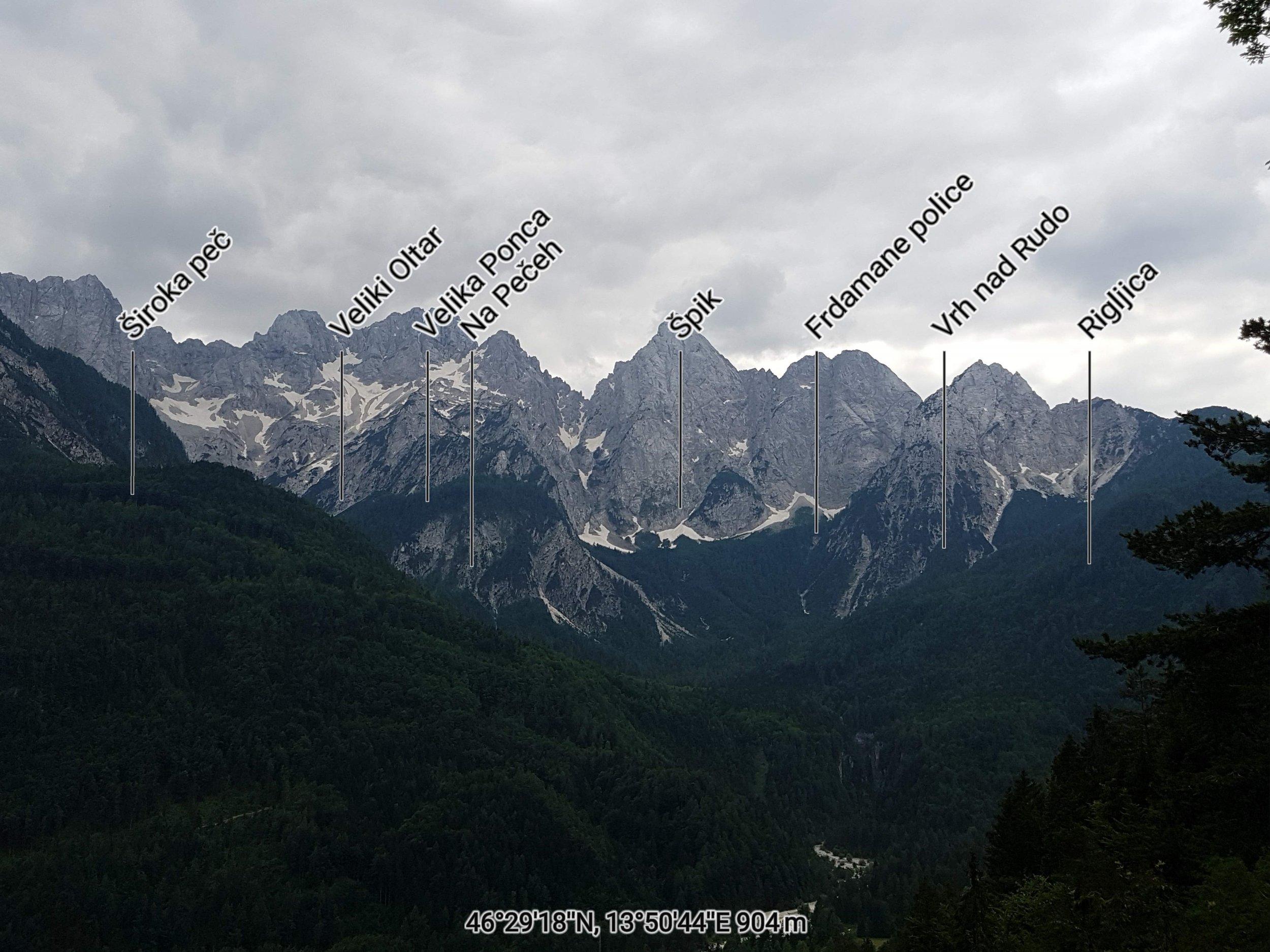 Martuljk group of mountains