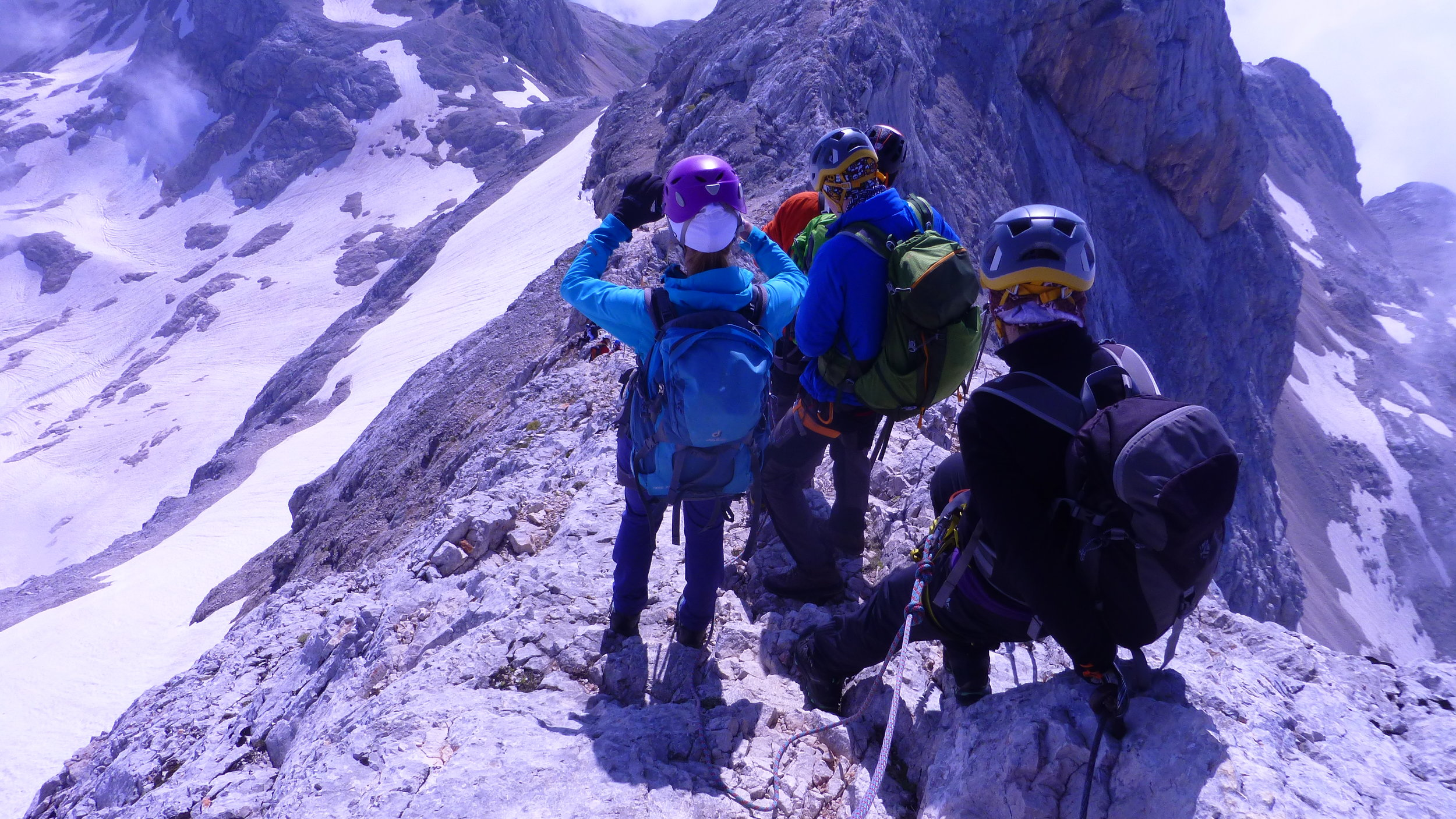 Descent from the Triglav