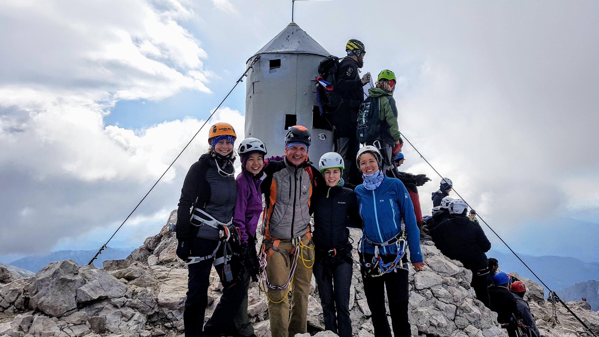 On the top of Triglav 2864 m