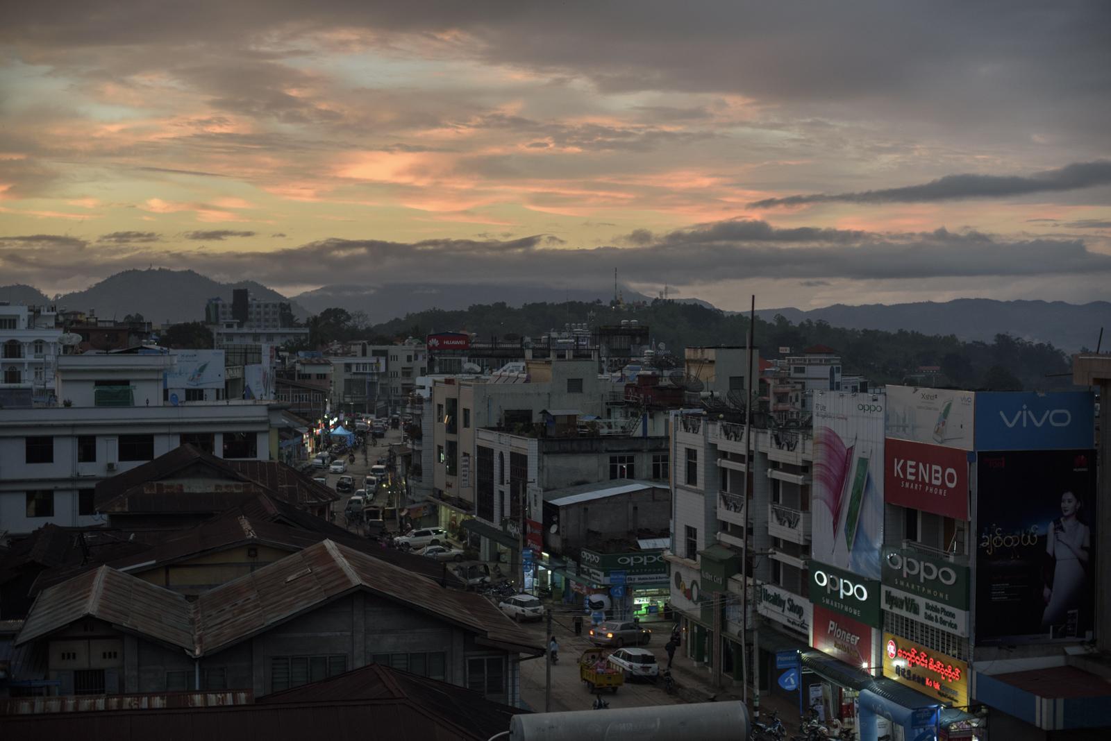 Lashio, Myanmar.