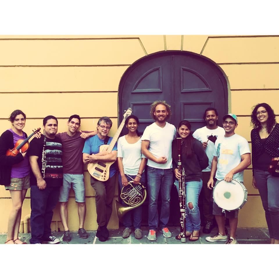 Músicos del En clave de poesía 2014 Festival de la palabra