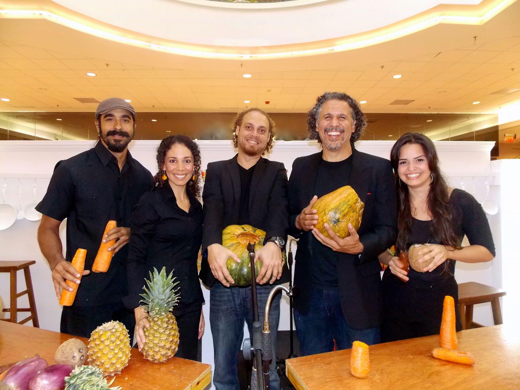 La orquesta de frutas y vegetales
