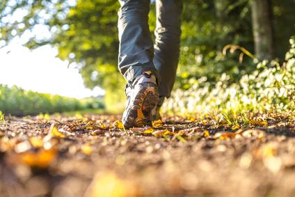 walking for back pain