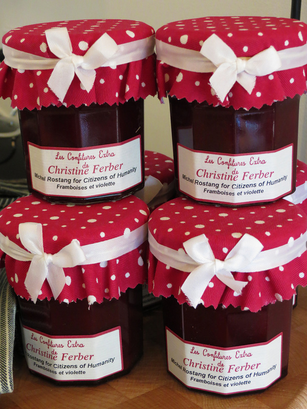 Jam made by guest of the Citizens of Humanity Cooking class with ??? in Paris Image by Annalise Bryan