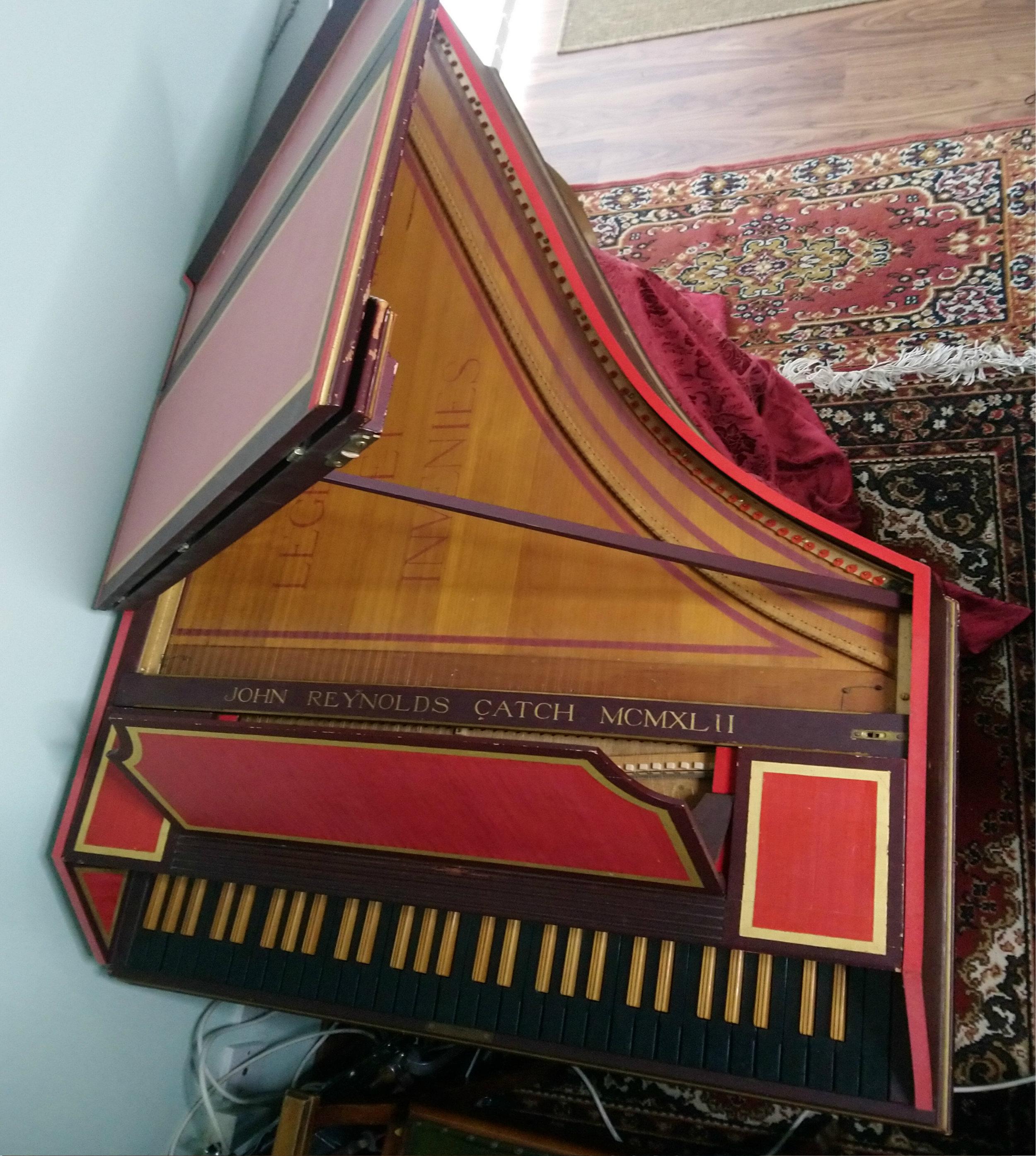 Harpsichord John Reynolds Catch (1942) -