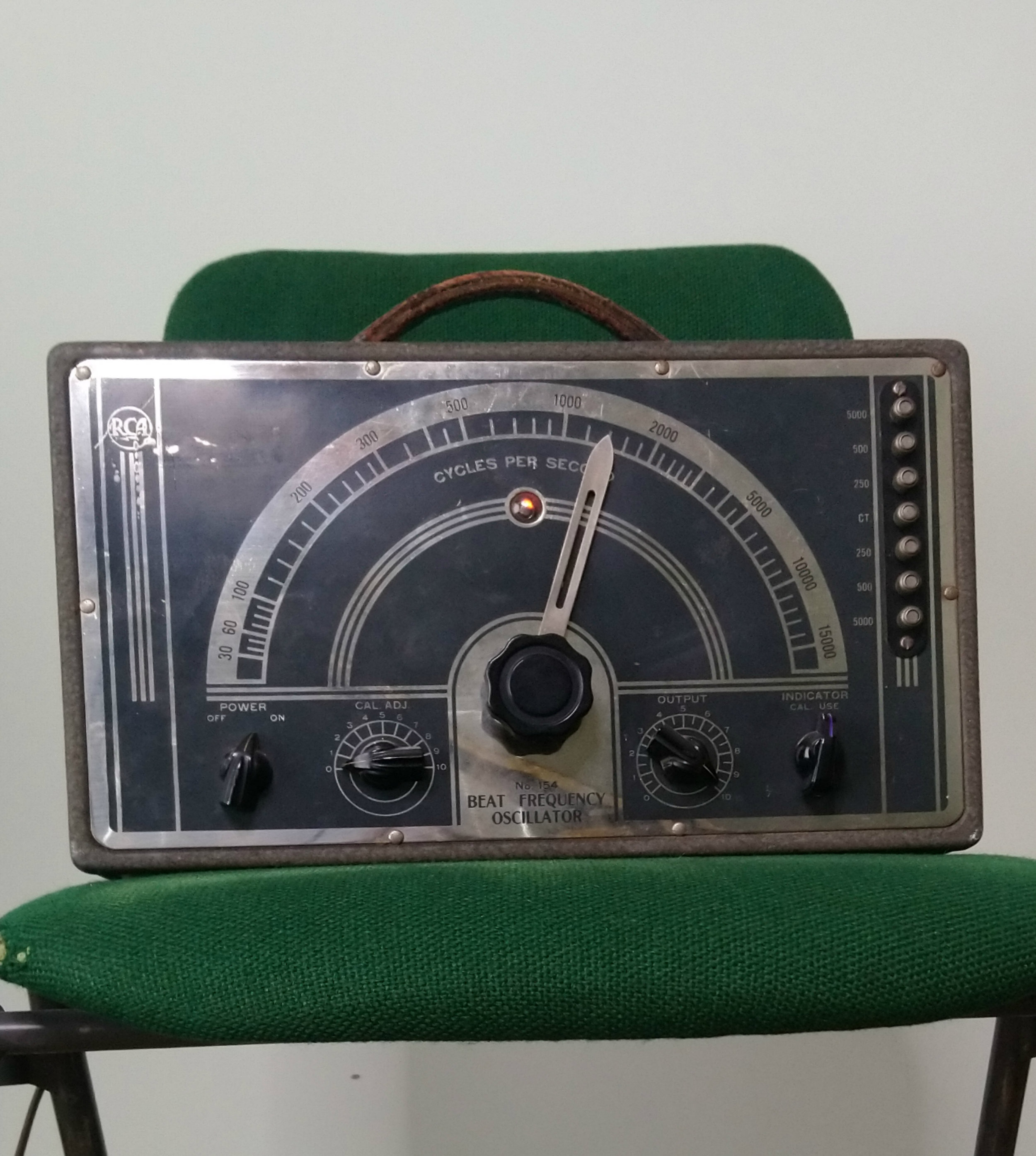RCA Beat Frequency Oscillator (1938) -
