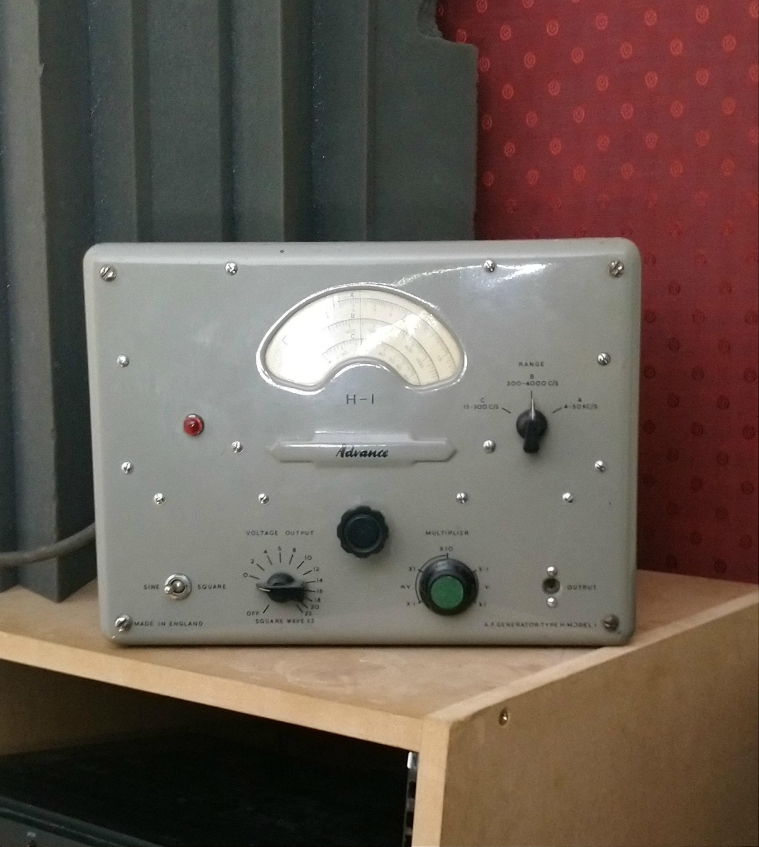 Advance H-1 Oscillator (1952) -