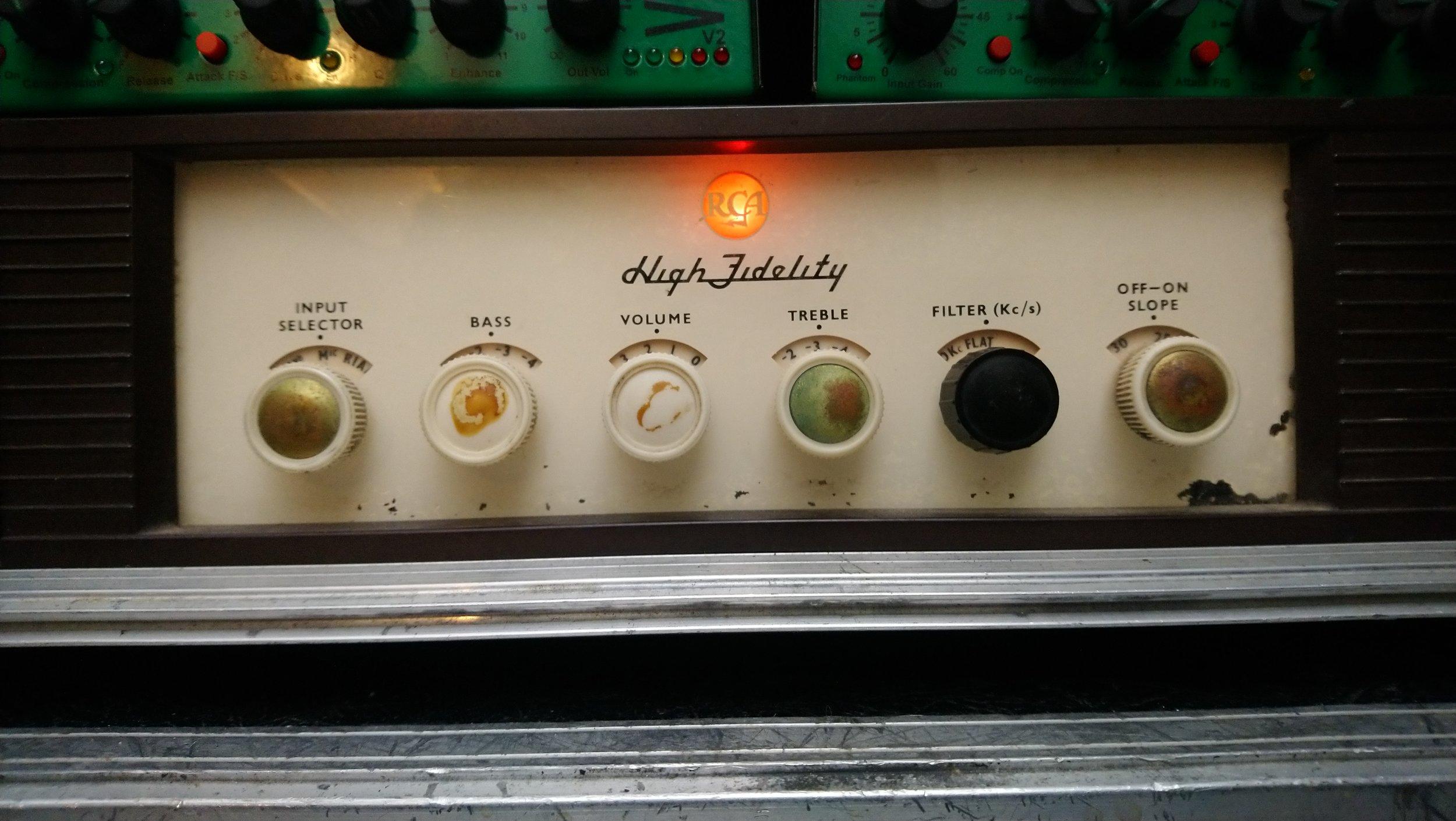 RCA Orthophonic Preamp LMI 32215 - AKA Joe Meek's 'Cooker'