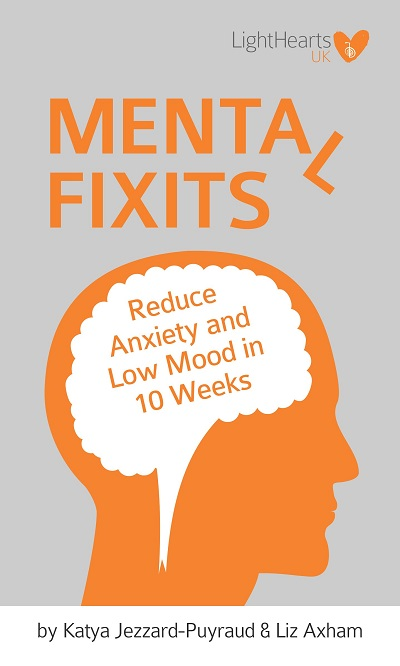 GET THE FREE MENTAL FIXITS KINDLE EBOOK... - Download the whole LightHearts UK mental health course for free with Kindle Unlimited. Includes personal stories from the LightHearts founders on how to deal with low self-esteem, eating disorders, depression, anxious thoughts and panic attacks.Click HERE to go to Amazon and find out how you can download your copy now.