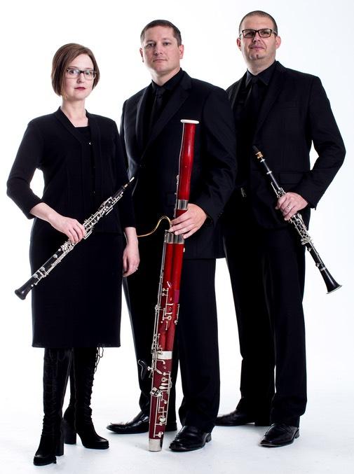 Nora Lewis, oboe;Phillip O. Paglialonga, clarinet; Eric Van der Veer Varner, bassoon