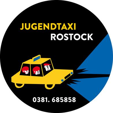 2013  — Logo de Rostocker Jugendtaxi, réalisé pour la ville hanséatique de Rostock