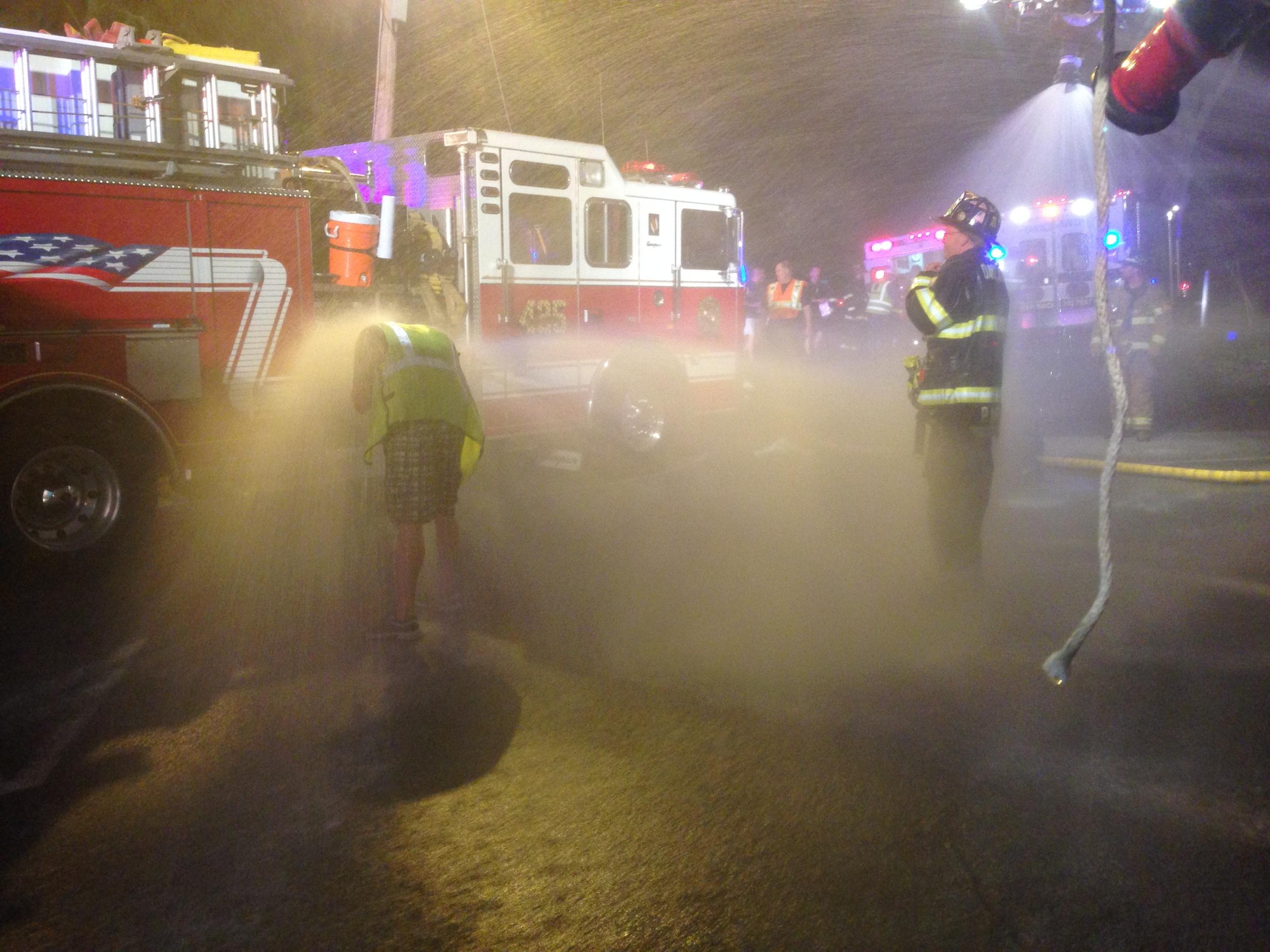 Hazmat Decon Taskforce Deployment, Oakland NJ