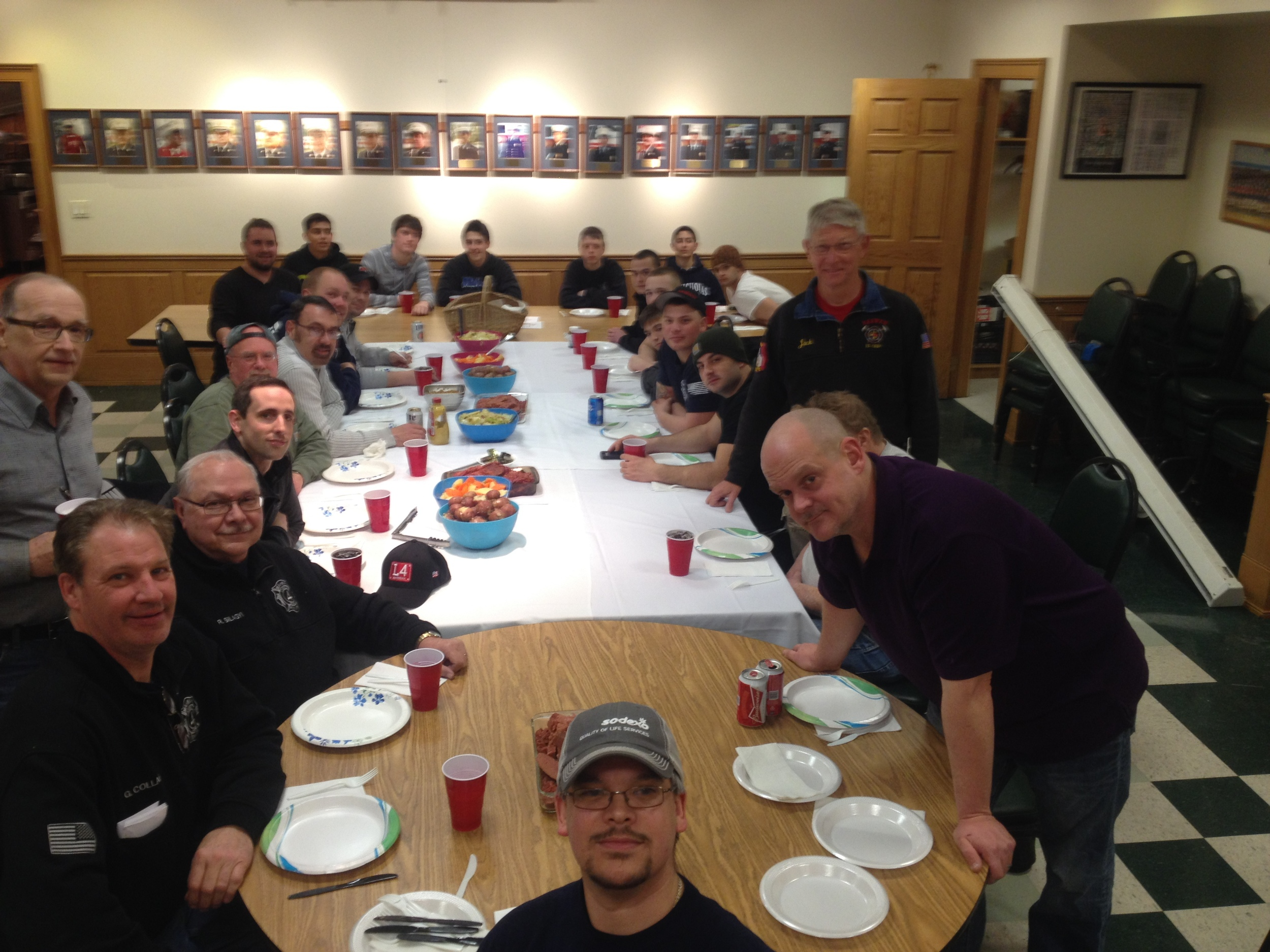 Thanksgiving Dinner at Company 4