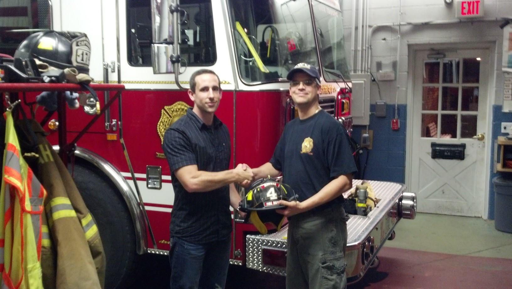 Helmet Presentation for Firefighter Quick