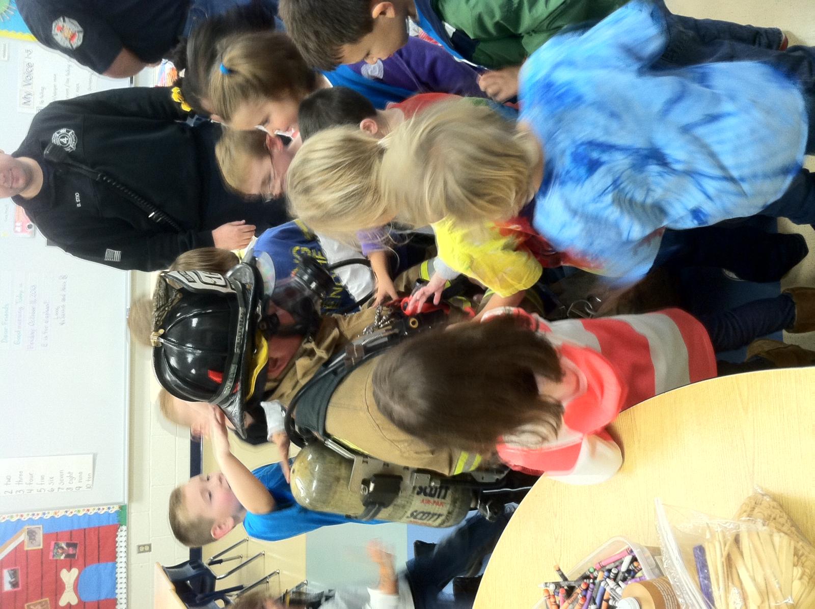 In School Demo for Fire Prevention Week