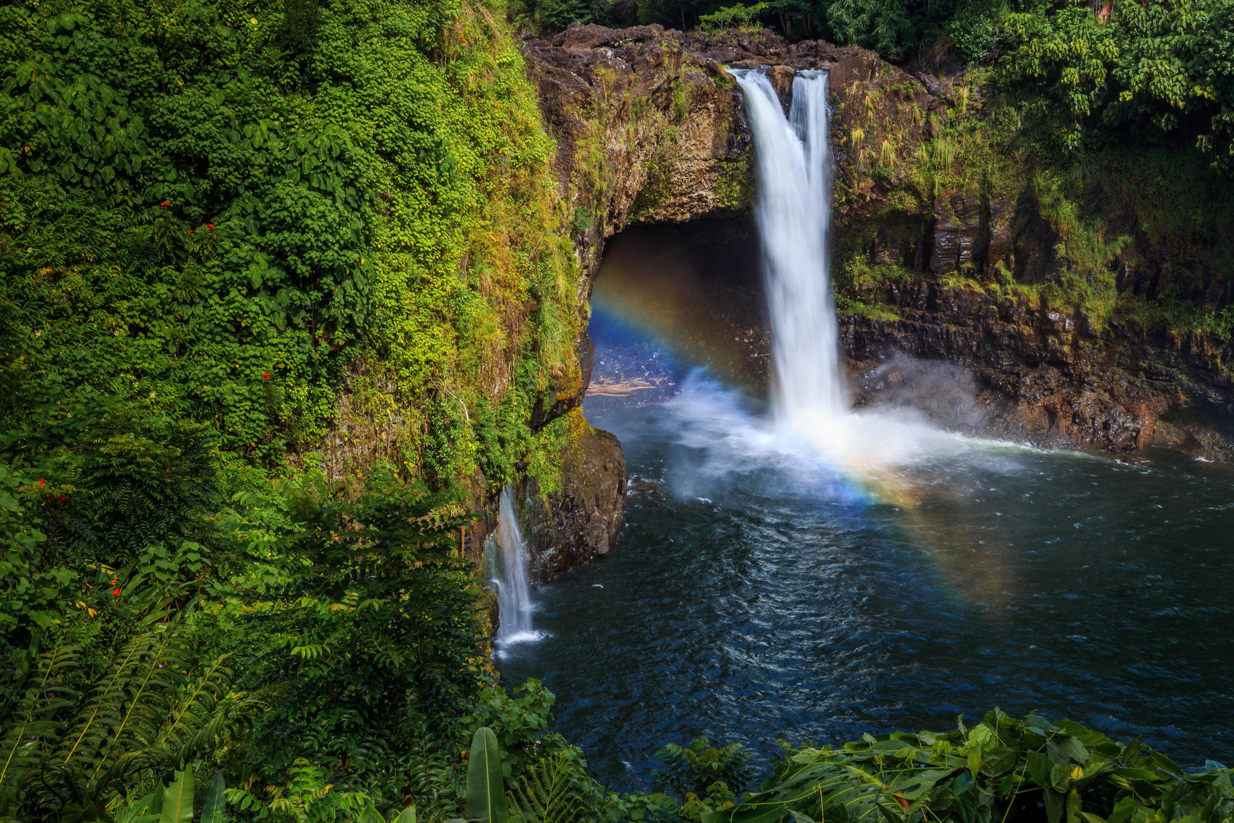Rainbow Falls, Hawaii