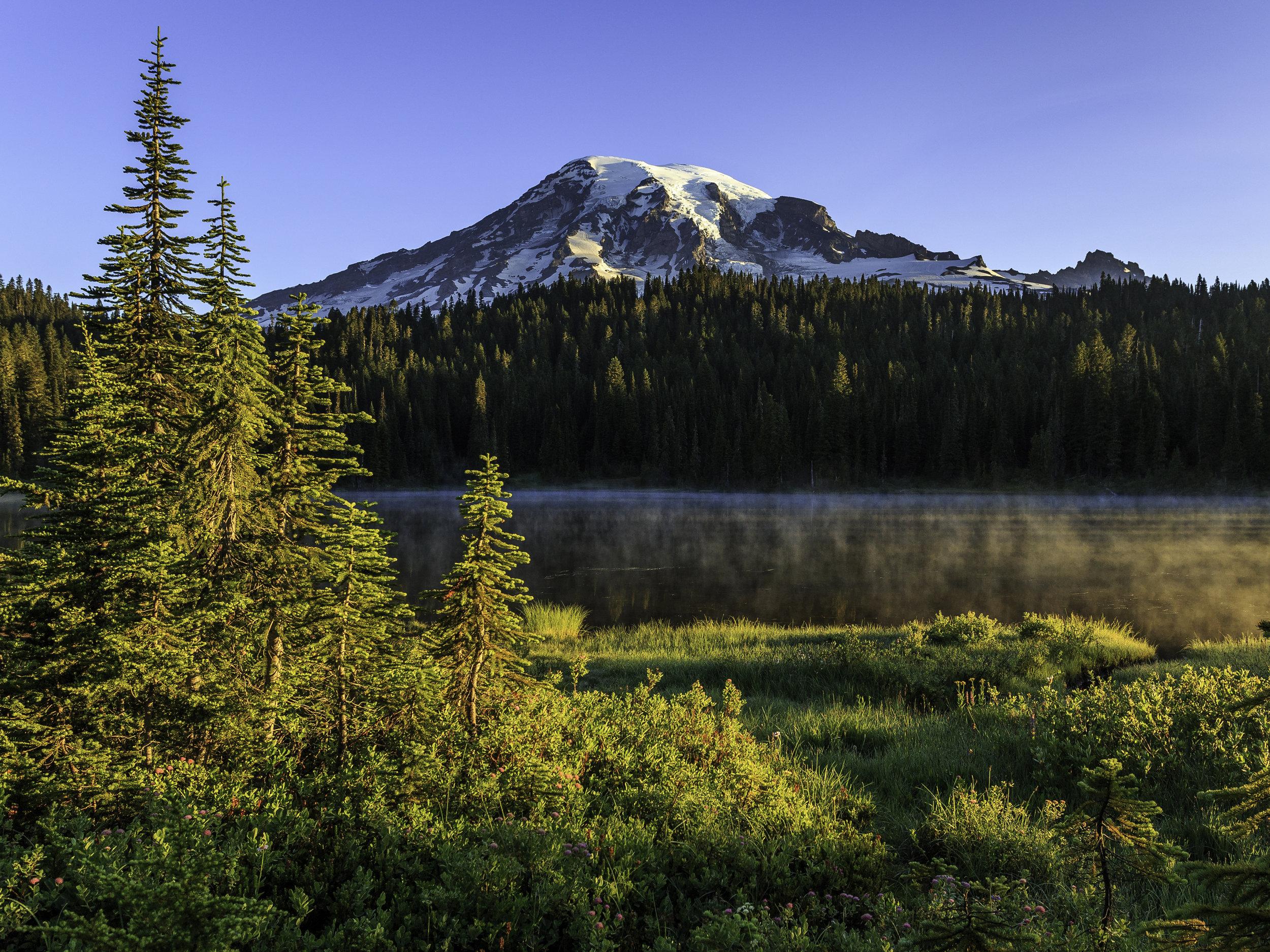 Reflection Lake, Mount Rainier National Park, Washington