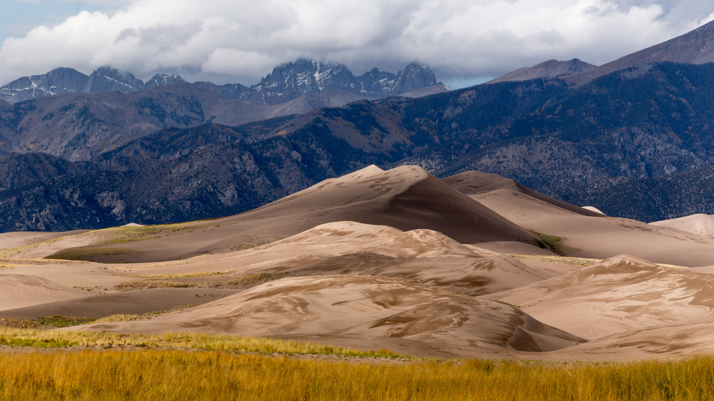 The Layered Effect, Great Sand Dunes National Park  © Andrew Lockwood 2017