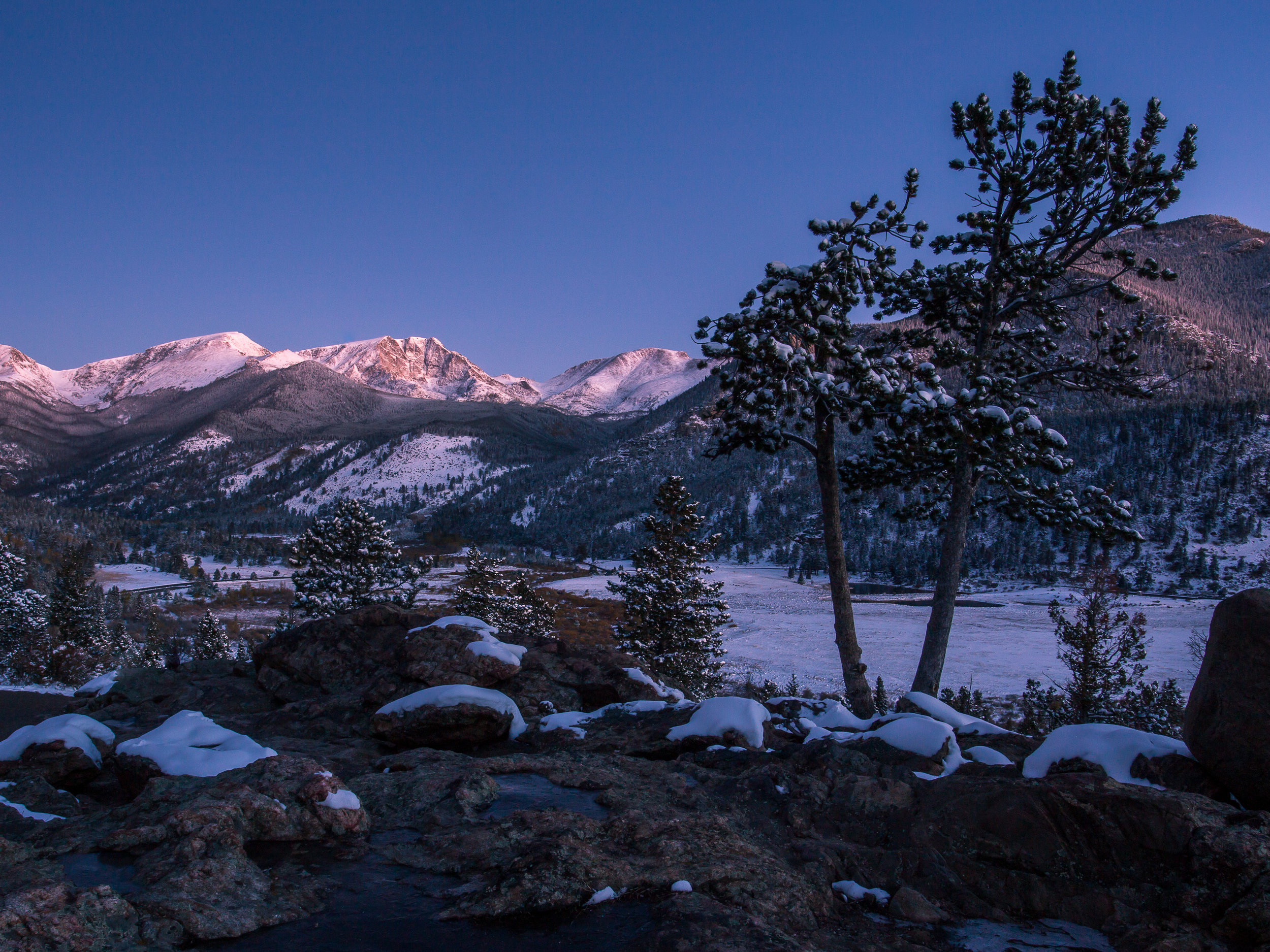 Wrapped in White, Rocky Mountain National Park  © Andrew Lockwood 2017