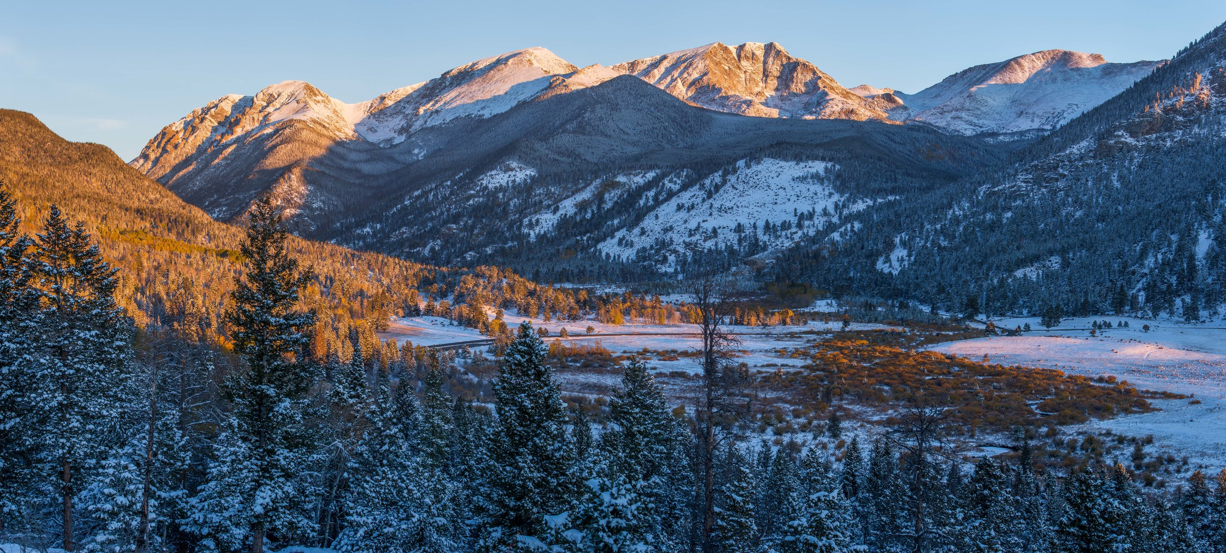 Crystal Valley, Rocky Mountain National Park  © Andrew Lockwood 2017