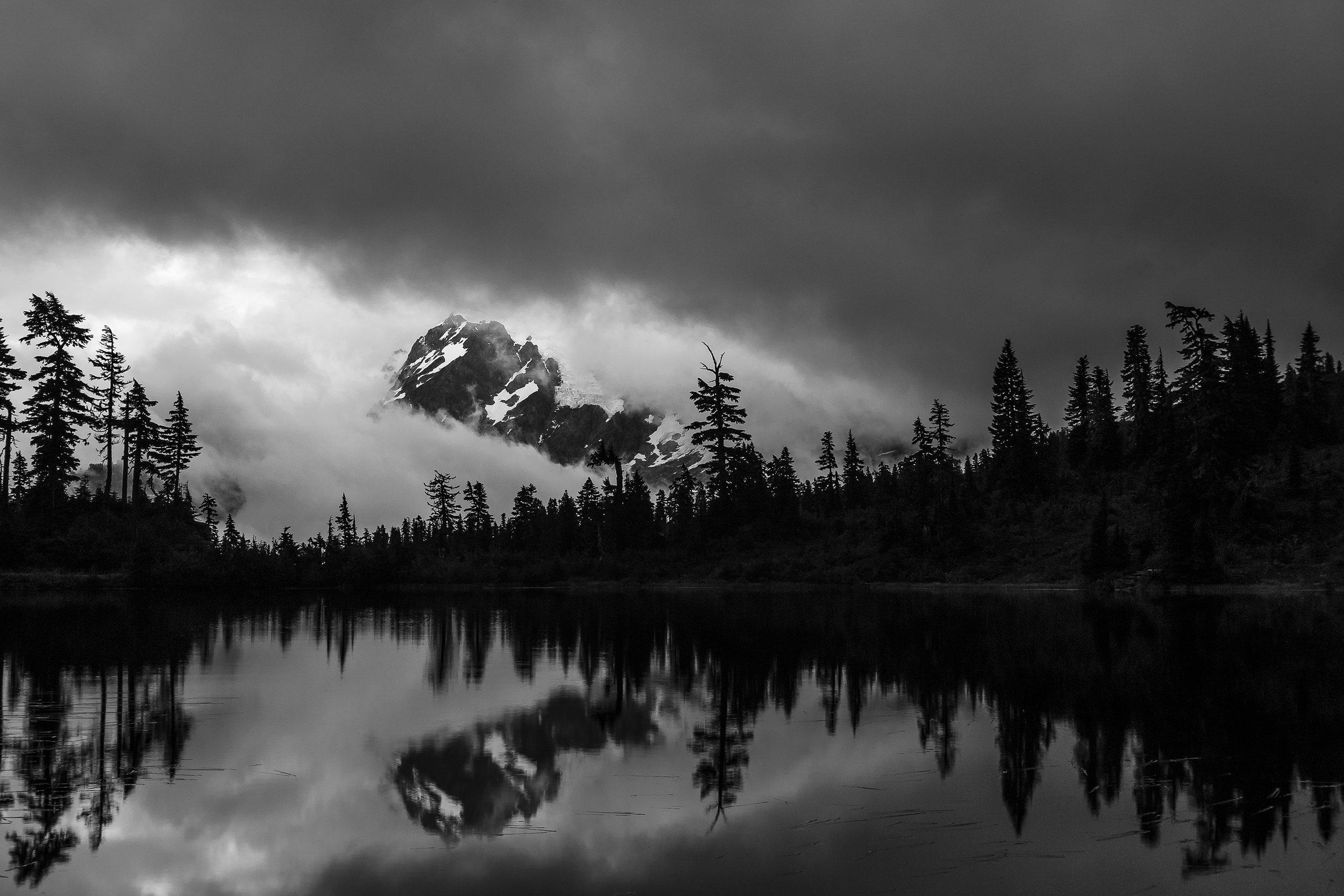 Storms On Mount Shuksan  © Andrew Lockwood 2017