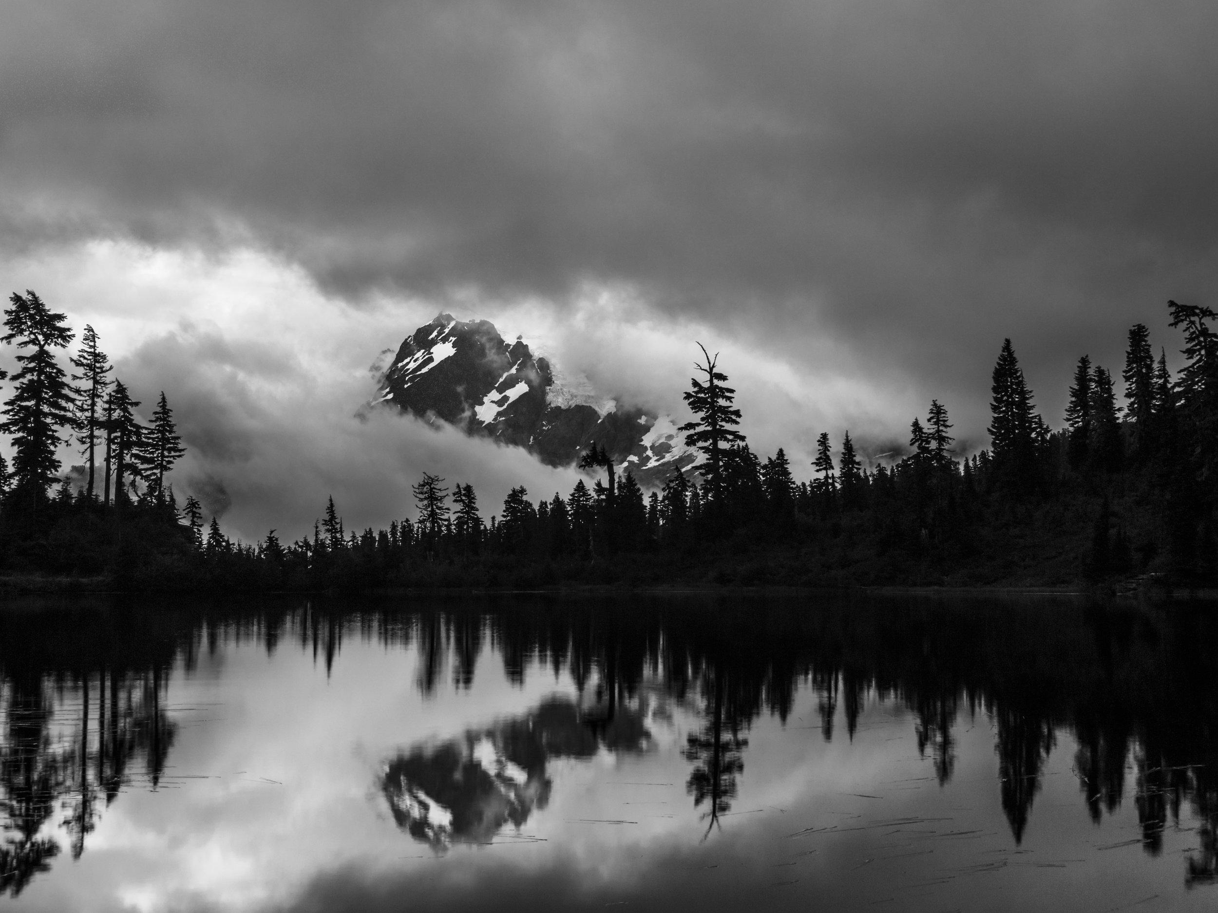 Storm on Shuksan                                           ©Andrew Lockwood 2017