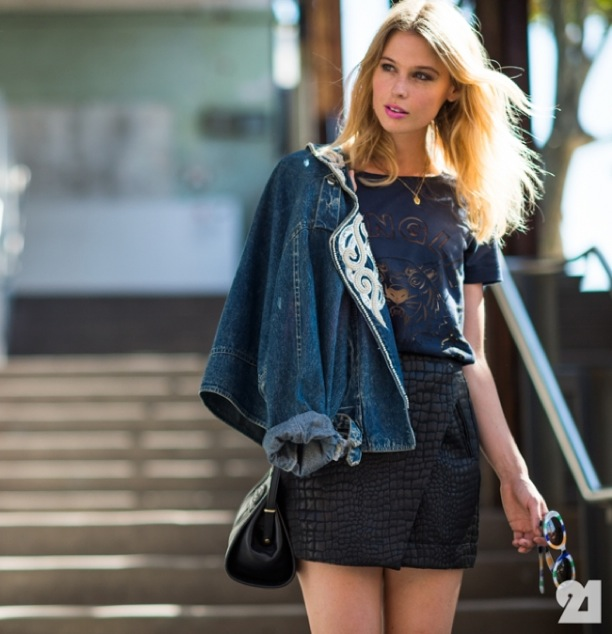 STREET-STYLE-EMBROIDERED-DETAILS-DENIM-JACKET-KENZO-TEE-CRIC-SKIRT-EMBROIDERED-JEAN-JACKET-Le-21eme-Adam-Katz-Sinding-Matalie-Cantell-Mercedes-Benz-Fashion-Week-Australia-Spring-Summer-13-14.jpg