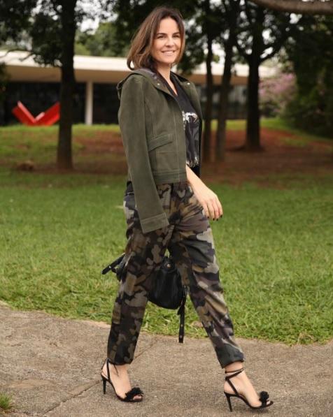 Look Militar - SPFW