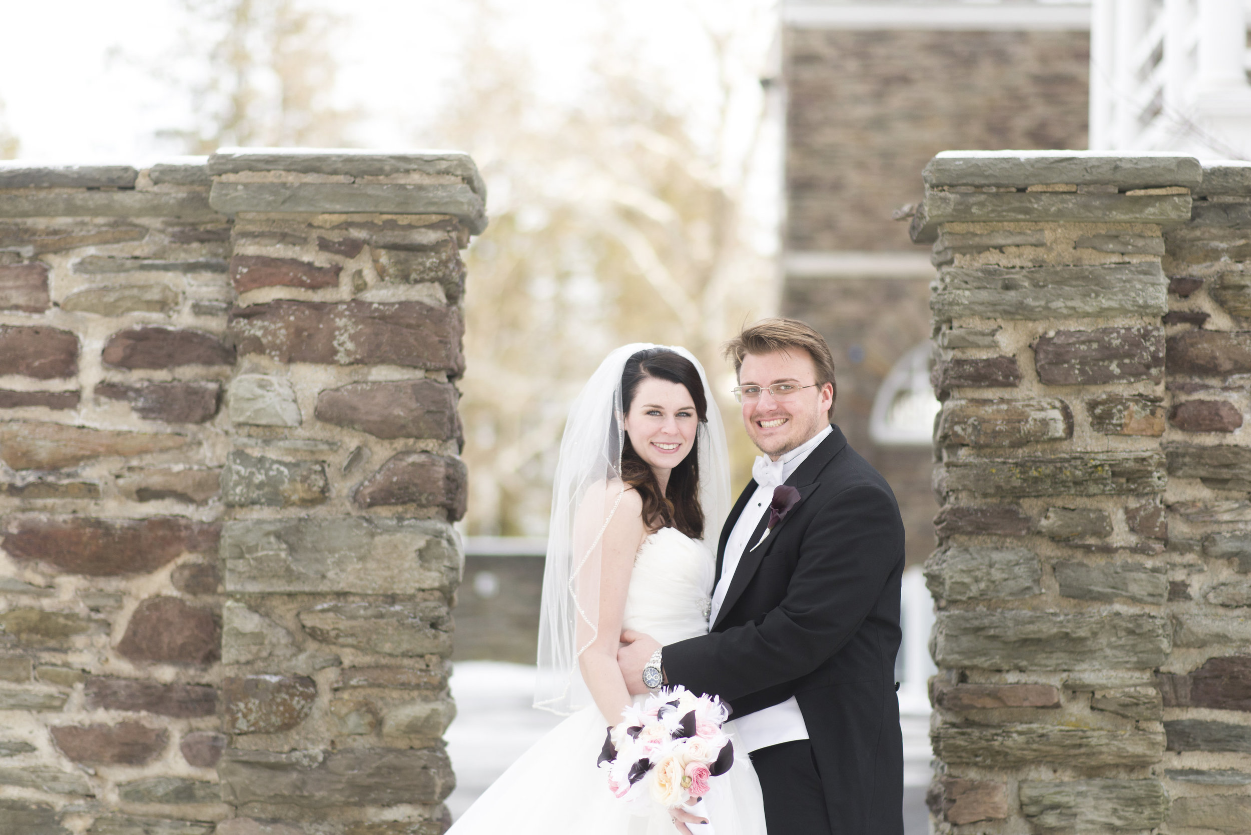 It's been so hot, I wanted to show off the Seelye wedding from this past January!