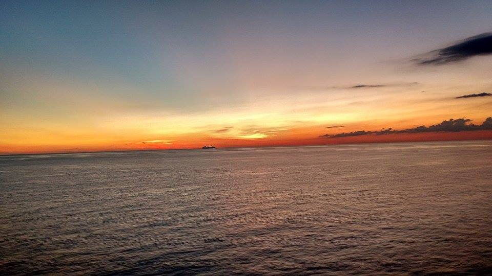 Sunset on our Cruise last week!