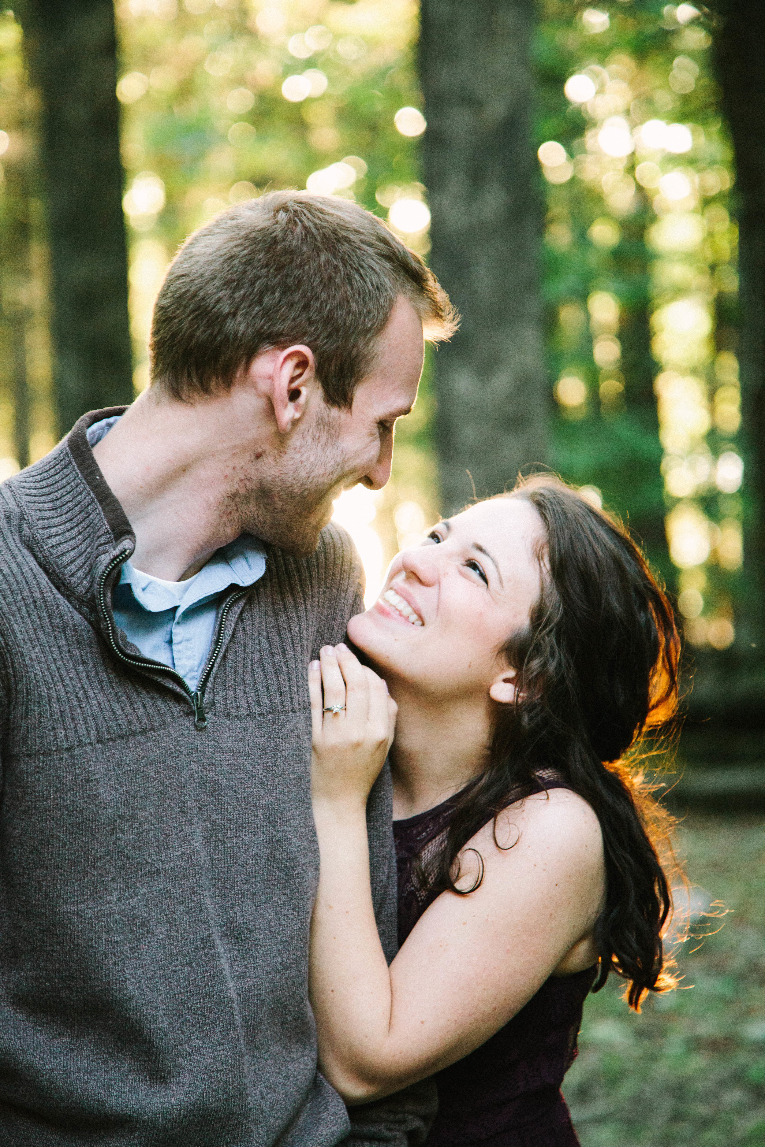 Carrie and Justin engaged! Photo by Bethel Ann Photography