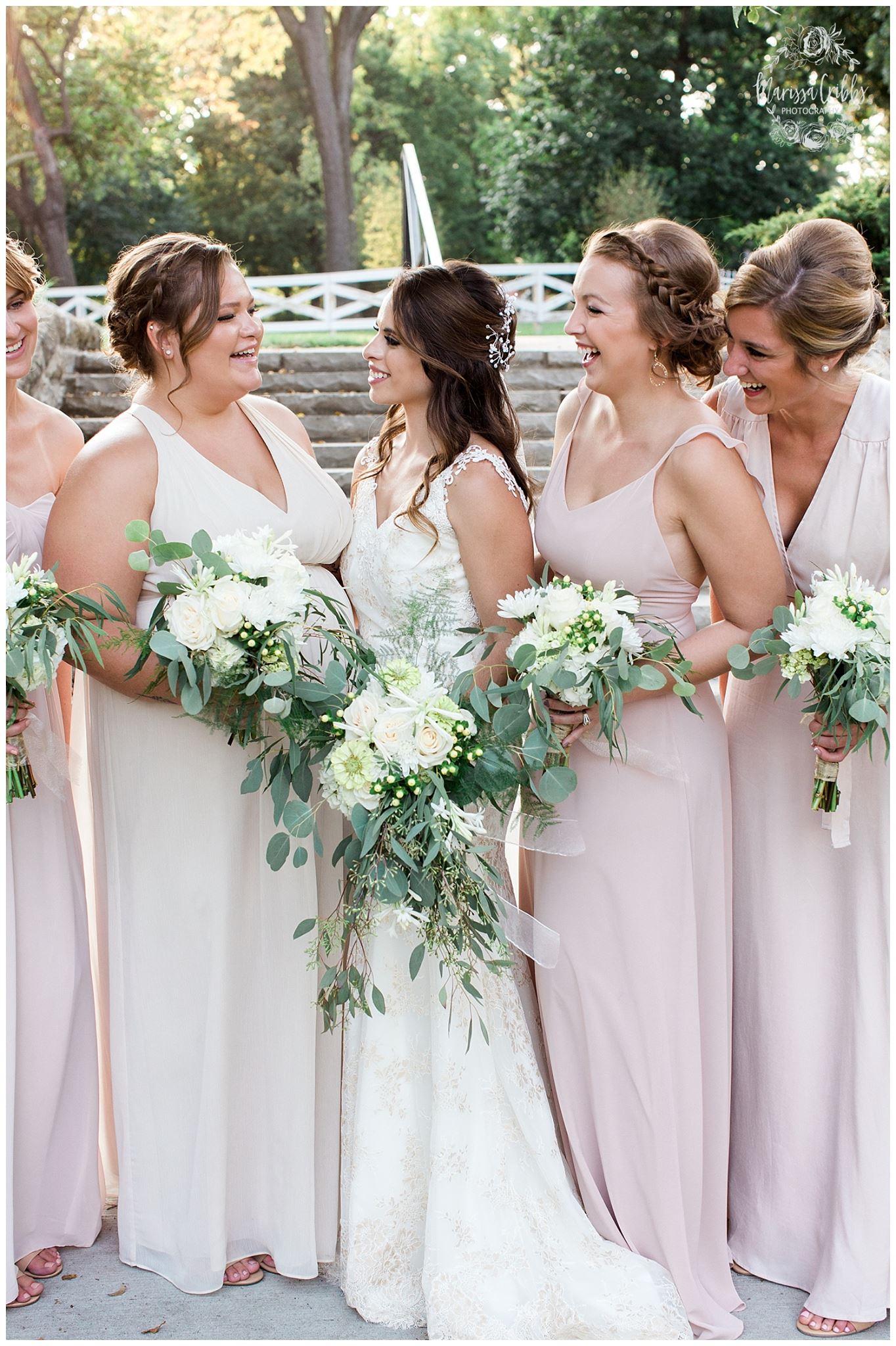 Bride and Bridesmaid Bouquets