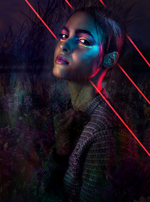 Hair/Make-up: Amanda Markoya Model: Iandra Ortiz