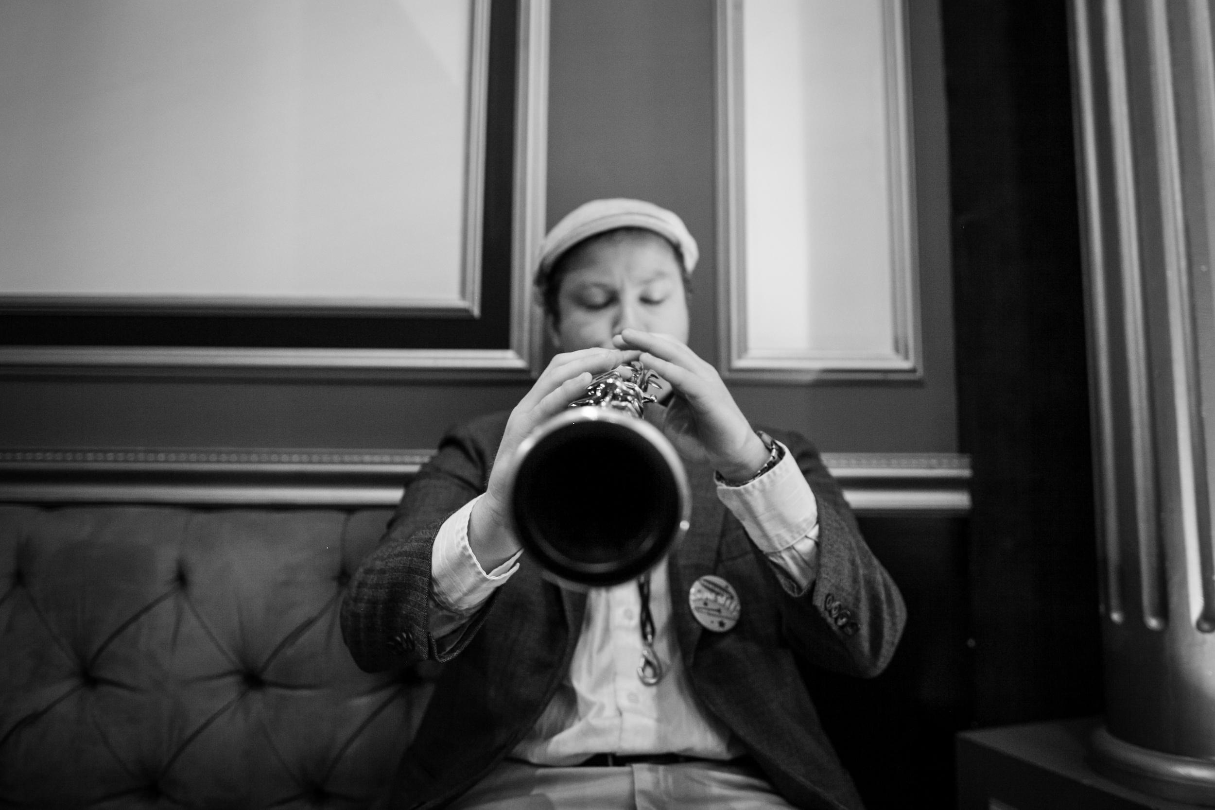 Dan The Sax (& Clarinet!) Man