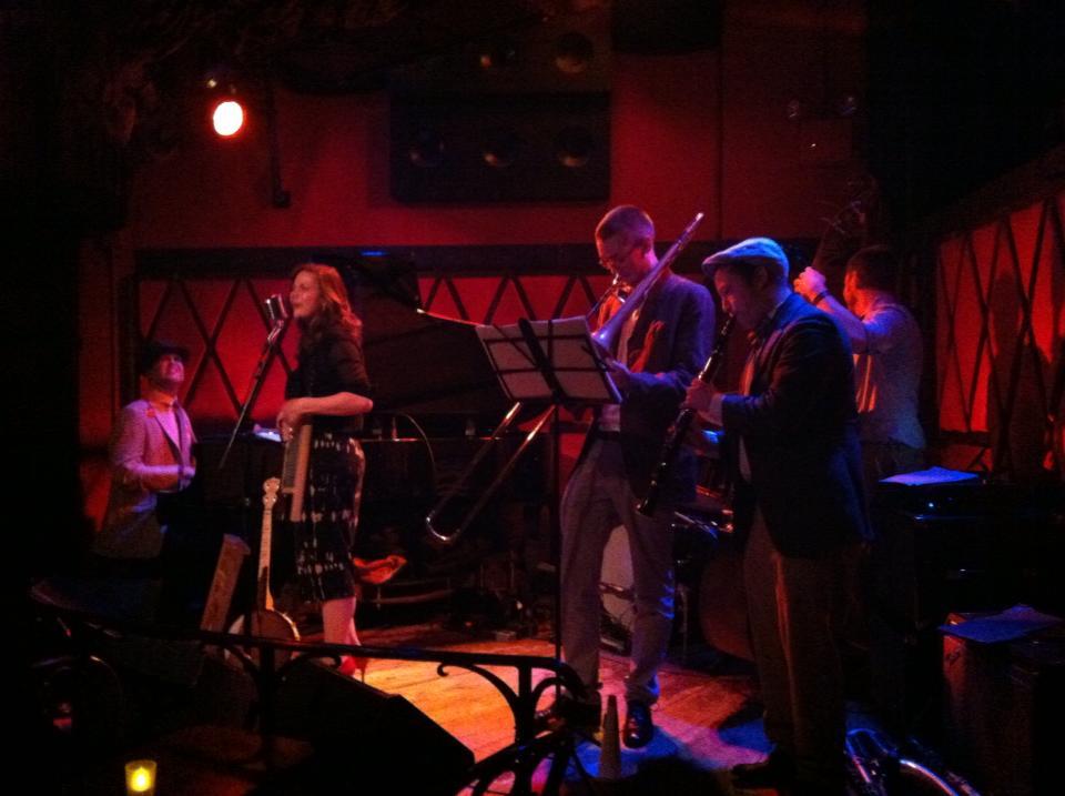 The Swingaroos at Rockwood Music Hall 2014