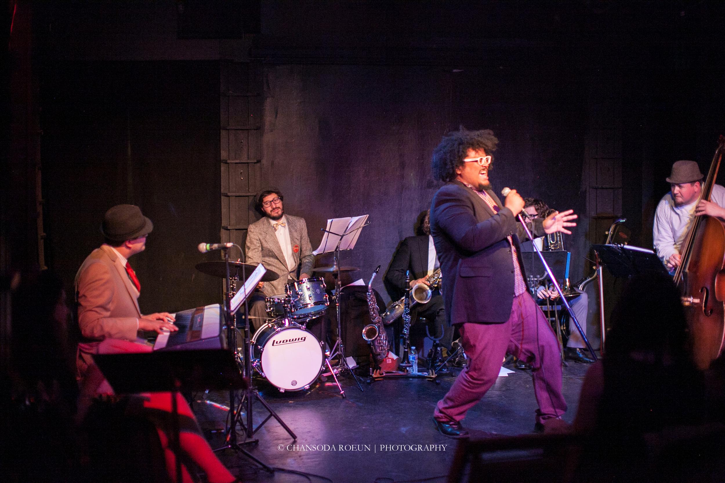 Malachi Nimmons, Jr with The Swingaroos