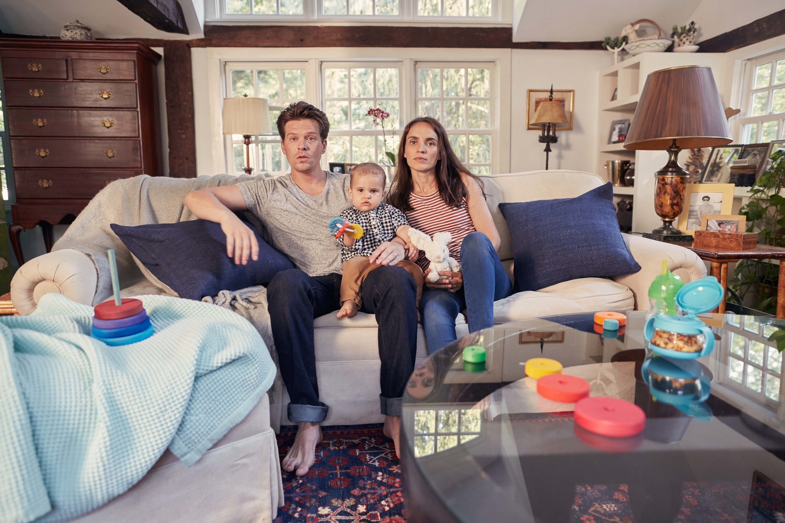 New York Life wanted a rebrand, and we decided to started off with their photo library. We wanted to capture real families in real moments, so we photographed the families in the moment before the moment.