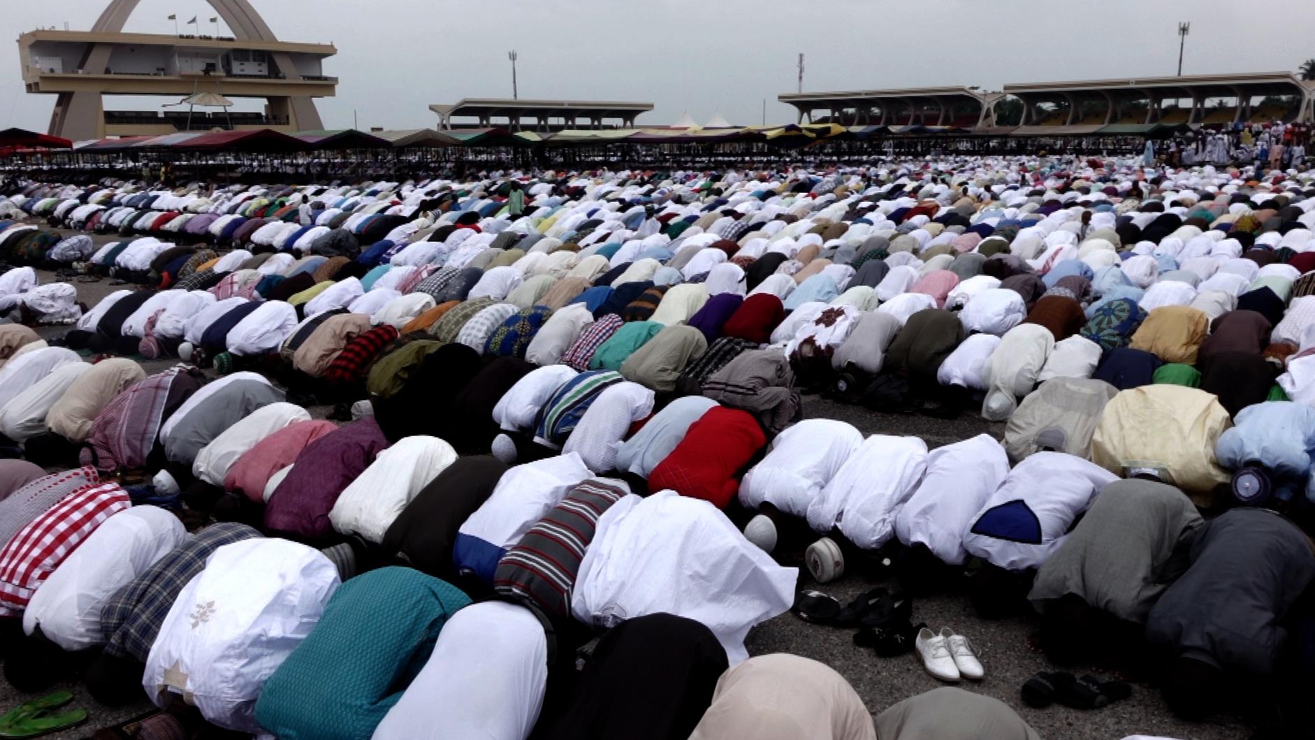 Eid al-Fitr in Accra (rushes) -