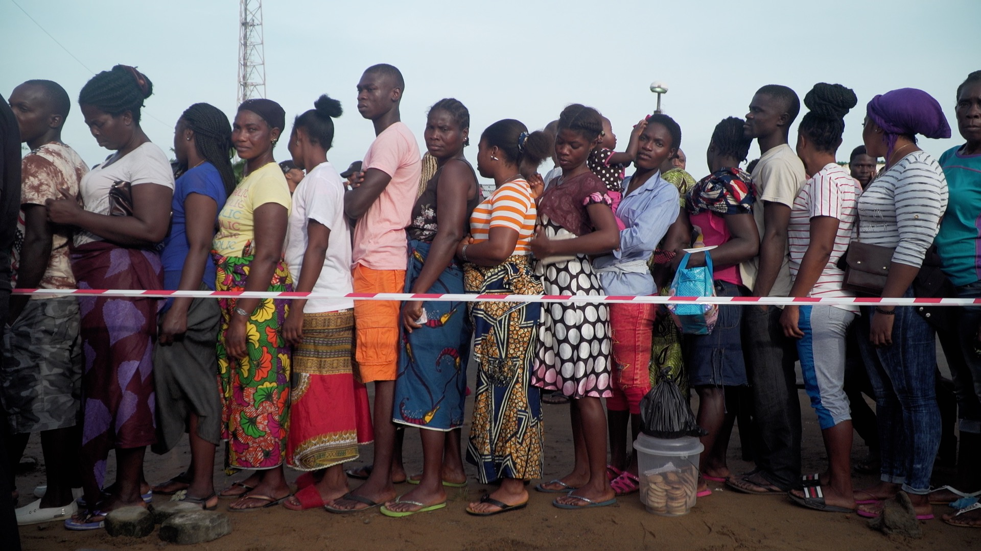 Liberia general election (rushes) -
