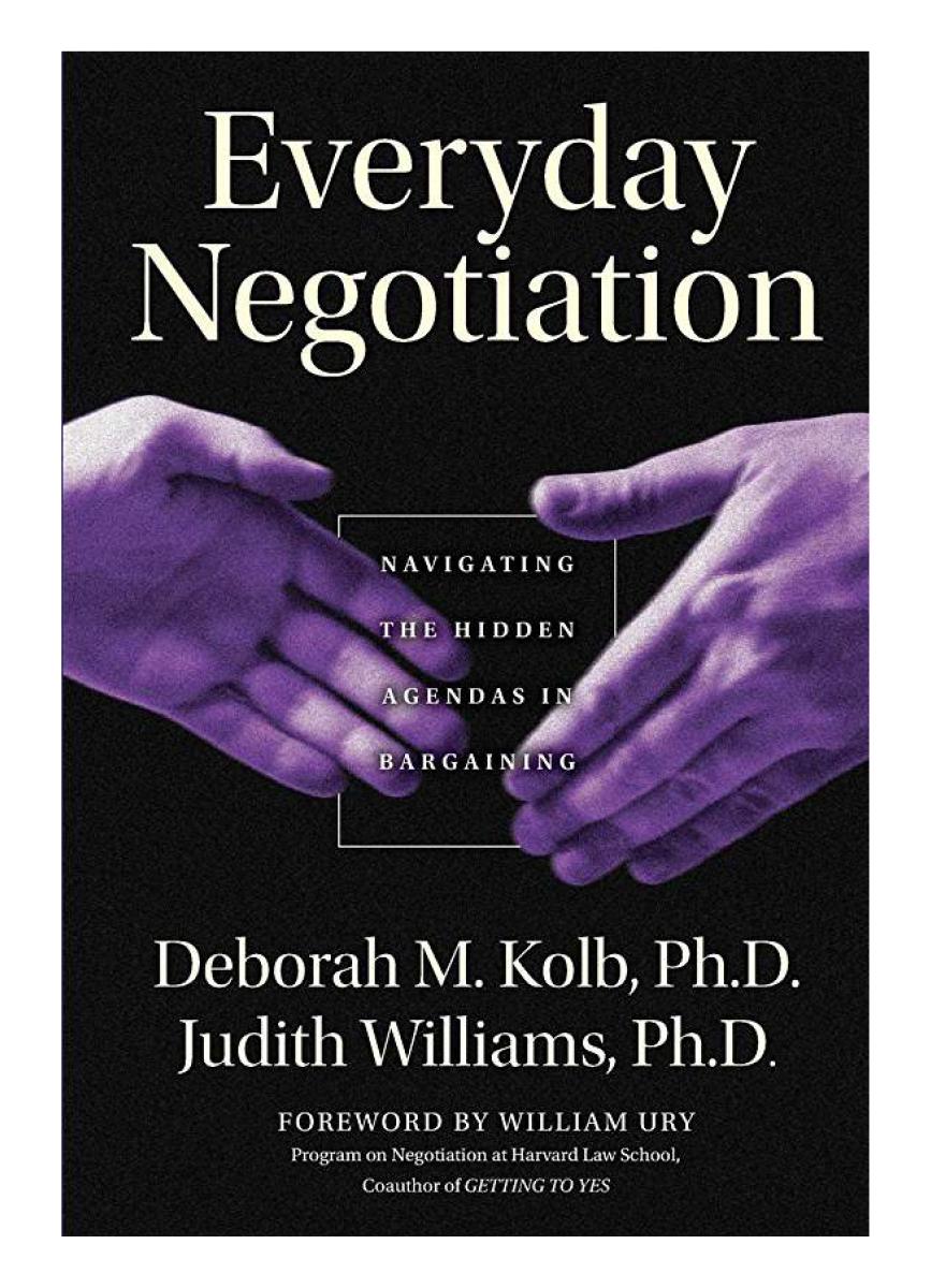 Everyday Negotiation