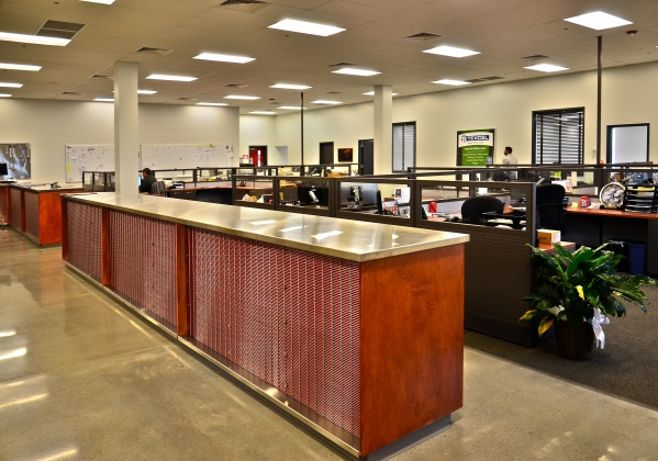 TENANT FINISH OUT & OFFICES